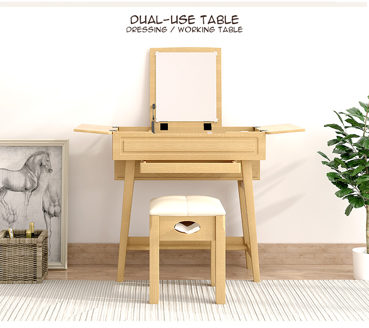 Mini Solid Wood Dressing Table Set Dt Construction Group Pte Ltd
