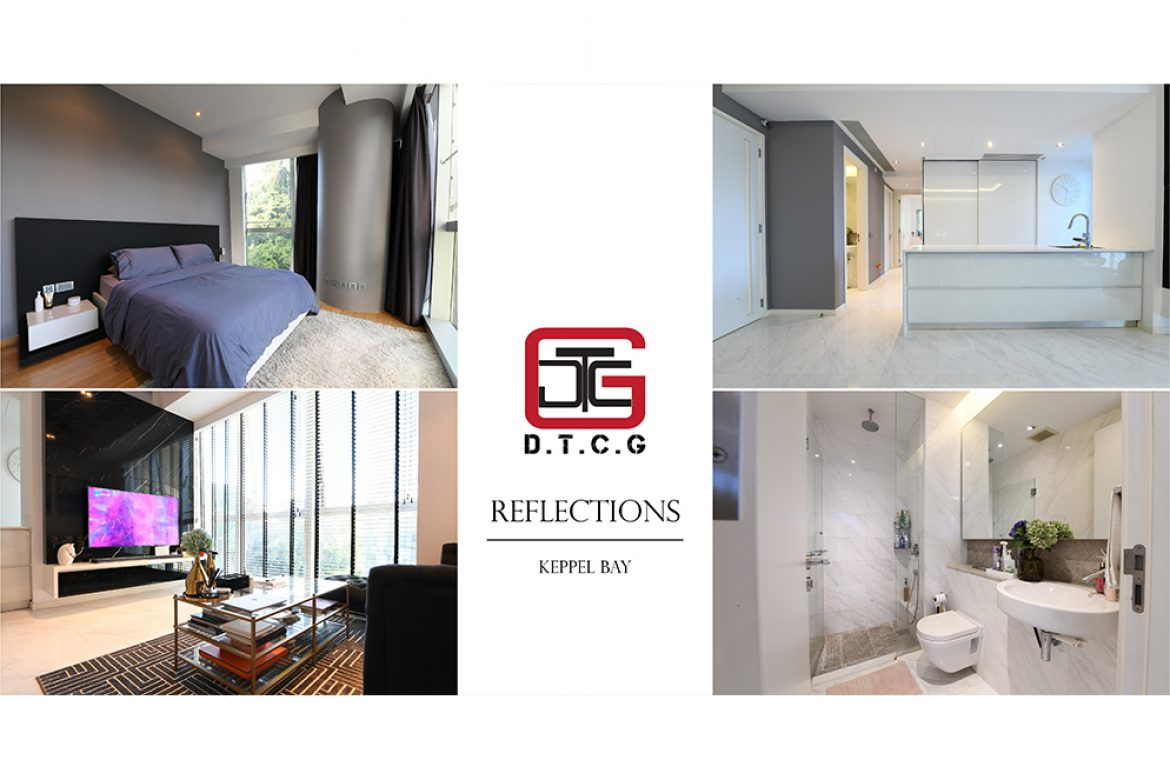 Reflections @ Keppel Bay: Monochromatic Oasis where Interior meets Architecture
